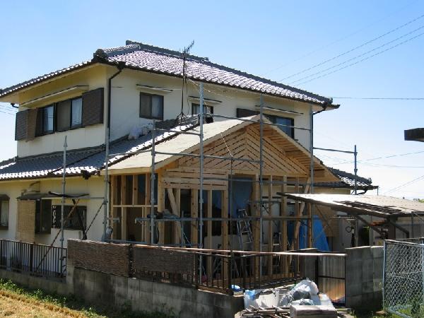 増築木工事
