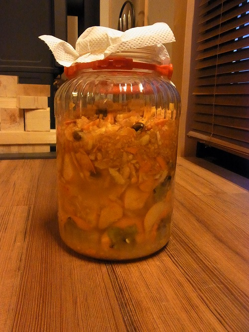 柿酢スタート