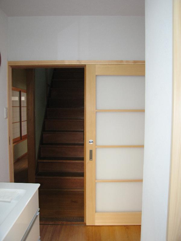 階段引き戸 後