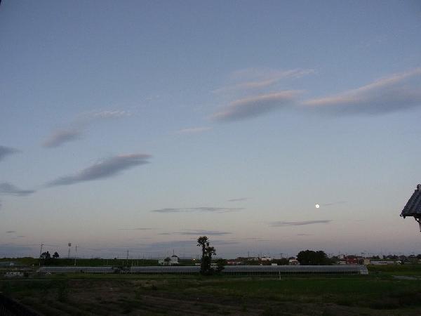 2011十五夜前日夕刻