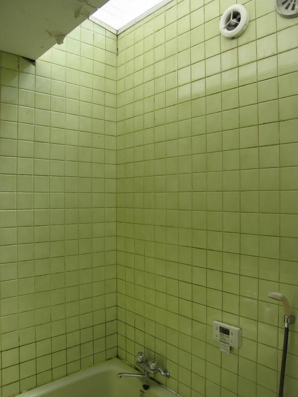 施工前 風呂