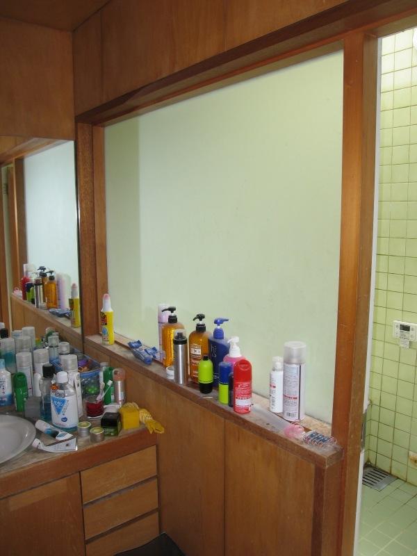 施工前 洗面