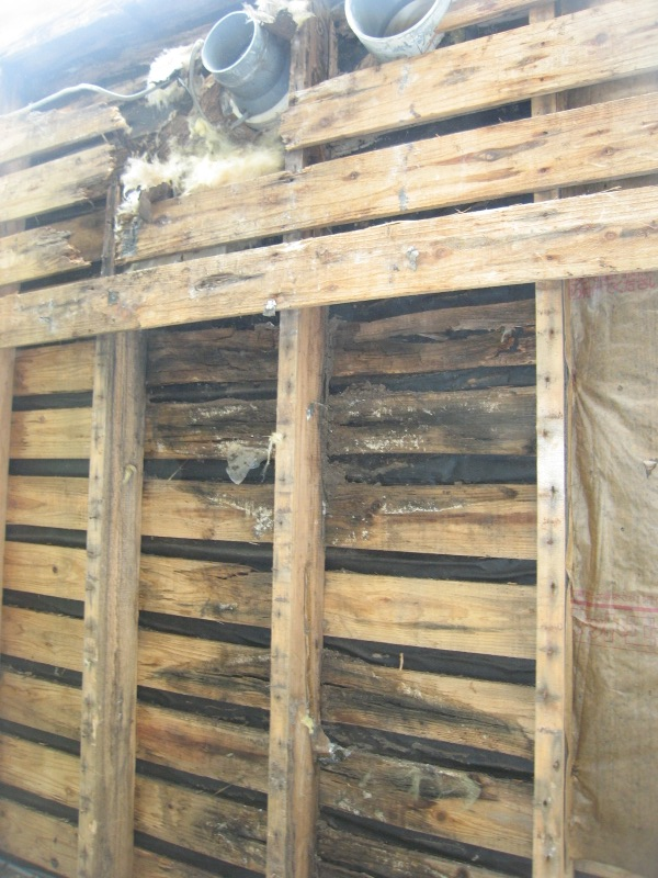 施工前 壁内側