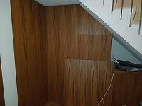 階段下スペースを最大限に活用した下駄箱