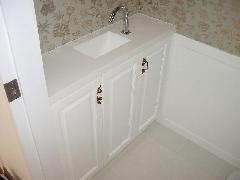 太子堂 H邸 トイレ手洗い台