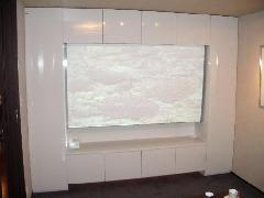 豊島区 マンション TVボード(プロジェクター)