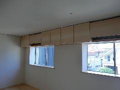 中野区 M&M邸 子供室 吊戸棚