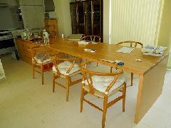 落合の住宅 ダイニングテーブル