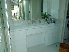 落合の住宅 洗面所 洗面化粧台