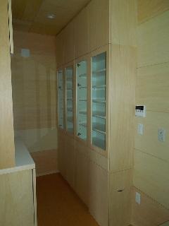 江東区 K様邸 キッチン 食器棚