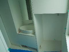 大田区 T様邸 変形洗面台