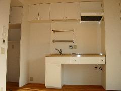杉並区 共同住宅 特注キッチン家具
