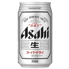 アサヒ スーパードライ 350ml缶 1ケース