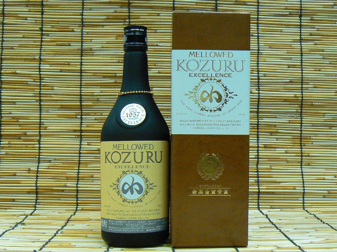 【小正醸造】 米 メローコヅルエクセレンス 41°700ml