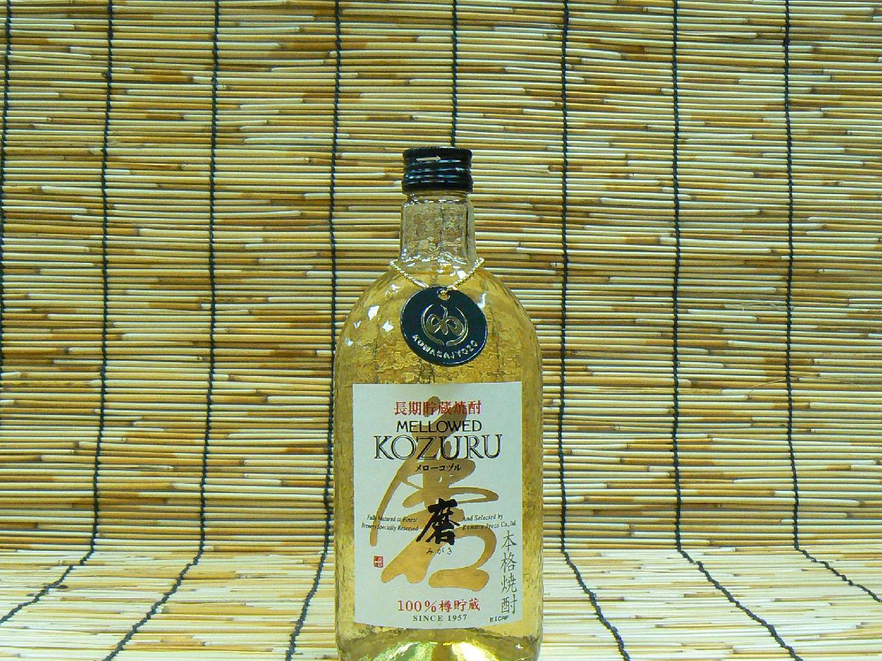 【小正醸造】 麦 メローコヅル 磨 25°720ml