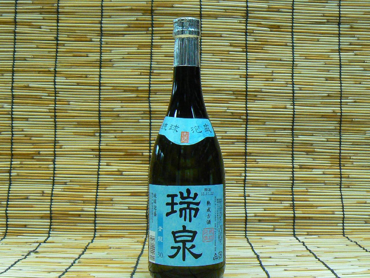 【瑞泉酒造】 泡盛 瑞泉 青龍 30°720ml