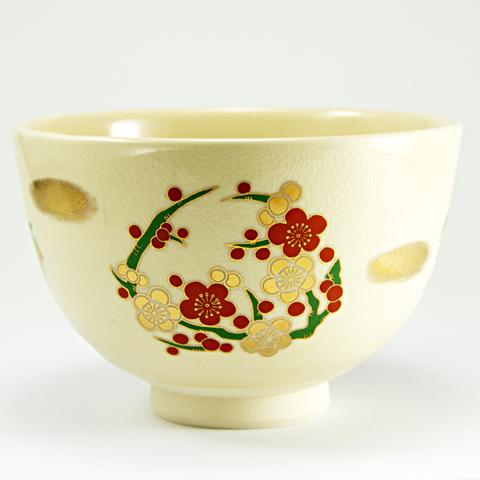 抹茶碗 「四君子」 通年物