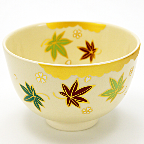 抹茶碗 「雲錦」 通年物