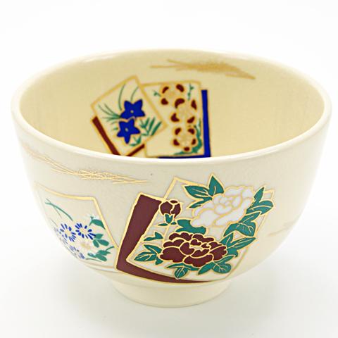 抹茶碗 「色紙」 通年物