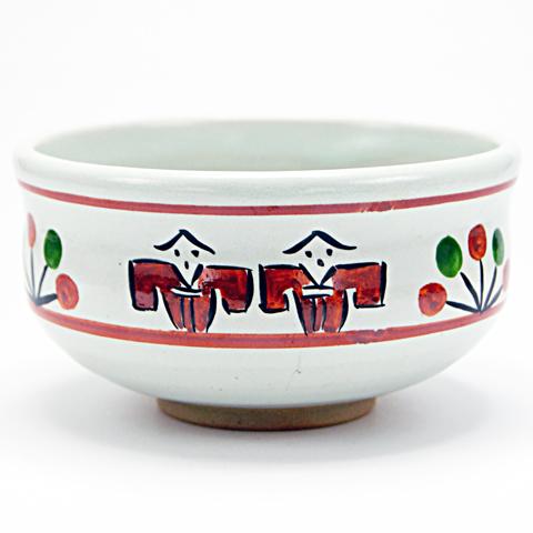 抹茶碗 「奈良絵」 通年物