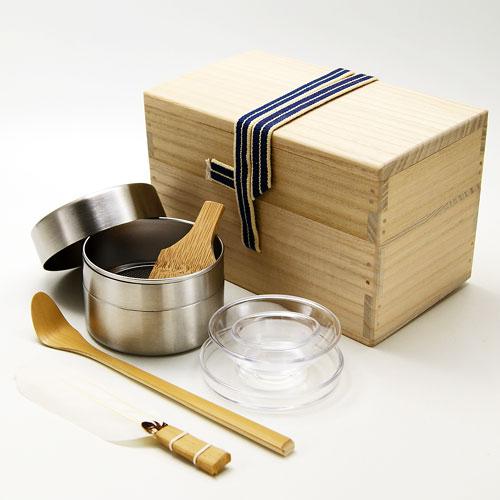 茶掃き箱4点セット 水屋用