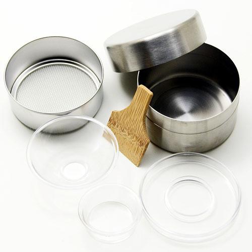 抹茶篩 浅型 ステンレス製 茶上合付