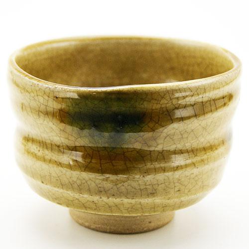 野点用抹茶碗 黄瀬戸 ミニサイズの抹茶茶碗