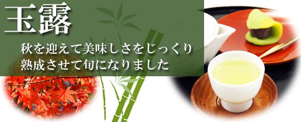 玉露の旬-秋