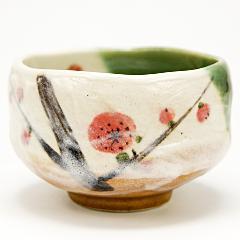 ミニ抹茶碗 「梅の花」 野点用