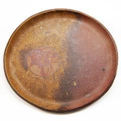 備前焼 丸皿 8寸 bizen-sara-271231-6