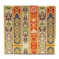 古帛紗 ロワール飾花文(しょっかもん) 龍村裂 茶道具
