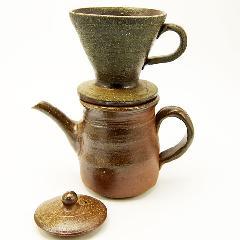 備前焼 コーヒードリッパーセット bizenyunomi-190820-1