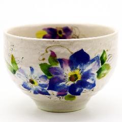 野点用抹茶碗 青花 ミニ抹茶茶碗 茶道具