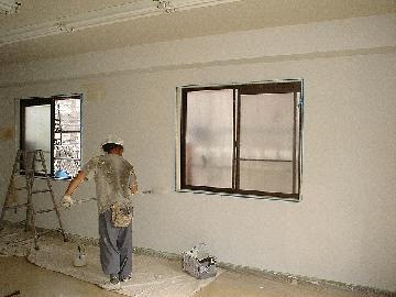 内部の改修/塗装