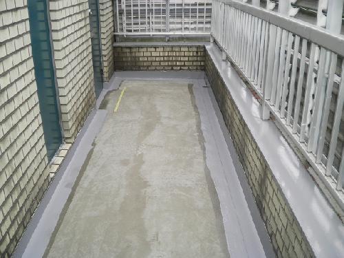 マンション/外廊下/防水工事