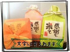お米プチギフト 約2合【紐結び袋タイプ】