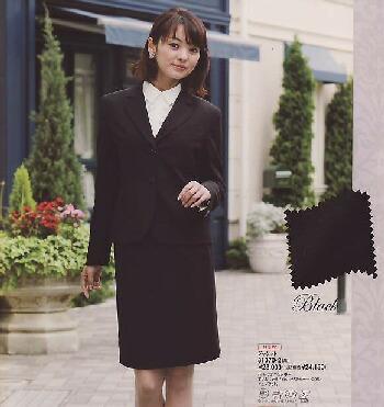 en joie(アンジョア)スカート 51370-2(黒)送料無料
