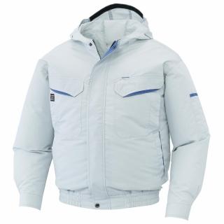 フード付長袖ブルゾン KU90480(空調風神服)