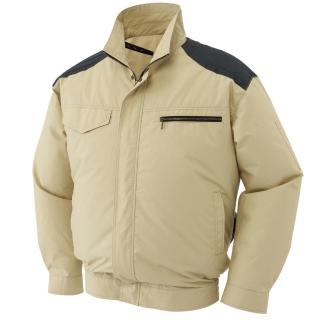 肩パッド付長袖ブルゾン KU93500(空調風神服)