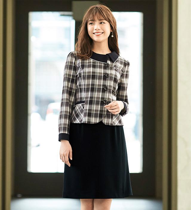 "2019""New""en joie(アンジョア)ソフトジャケット21940-7(ブラウン)送料無料"