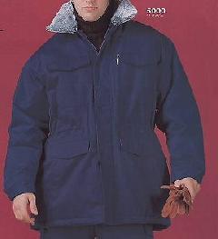 三愛 静電防寒着ハーフコート5000