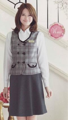 en joie(アンジョア)フレアースカート51593-8