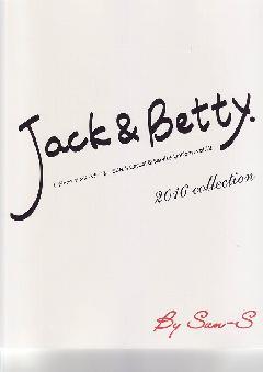 """""""NEW""""JACK&BETTY(サンエス) 2016カタログ"""