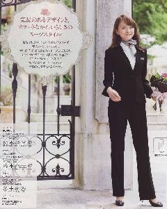 en joie(アンジョア) ジャケット 86300-2(黒)送料無料