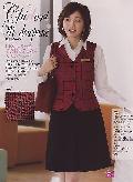 en joie(アンジョア)ボックススカート 51414 送料無料
