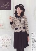 en joie(アンジョア)ジャケット<リボン付> 81630-7 送料無料