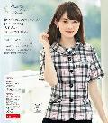 """NEW""en joie(アンジョア)オーバーブラウス26590-5(ピンク)送料無料"