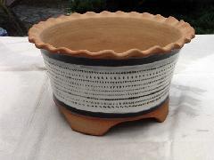 とび鉋植木鉢