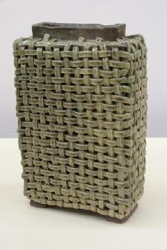 陶編長方角壺