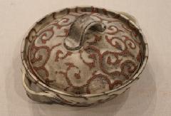 唐草紋土鍋